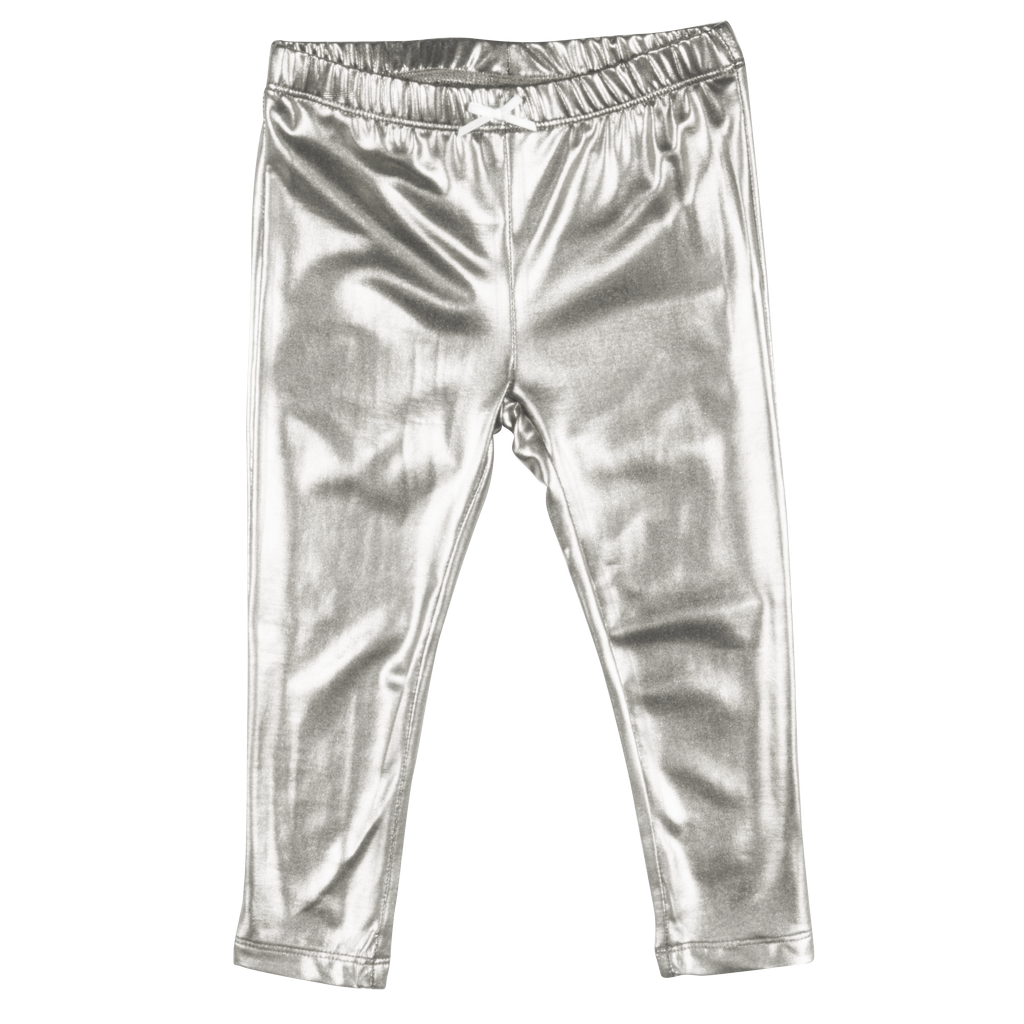 Pink Chicken Pink Chicken Metallic Lame Leggings -more colors-
