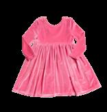 Pink Chicken Pink Chicken Steph Velour Dress
