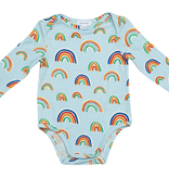 Angel Dear Angel Dear Rainbow Lap Shoulder Onesie