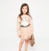 Petite Hailey Petite Hailey Glitter Swan Sweater