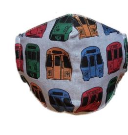 Sidetrack Sidetrack MBTA Boston Adult Mask