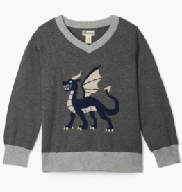 Hatley Hatley Noble Dragon V-Neck Sweater