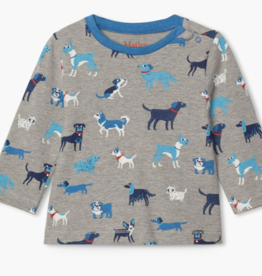 Hatley Hatley Playful Pups Long Sleeve Tee
