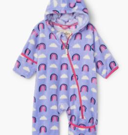 Hatley Hatley Happy Rainbow Fuzzy Fleece Bundler