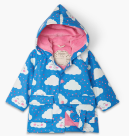 Hatley Hatley Cheerful Clouds Baby Raincoat