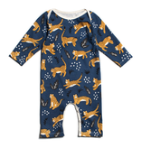 Winter Water Factory Winter Water Factory Wildcats Long Sleeve Romper