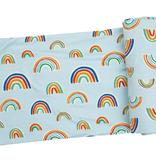 Angel Dear Angel Dear Blue Rainbow Swaddle Blanket