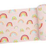 Angel Dear Angel Dear Pink Rainbow Swaddle Blanket
