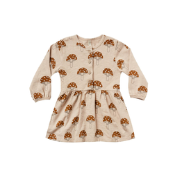 Rylee and Cru Rylee and Cru Mushroom Button Up Dress