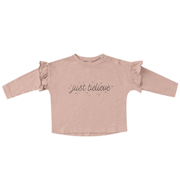 Rylee and Cru Rylee and Cru Just Believe Ruffle Tee