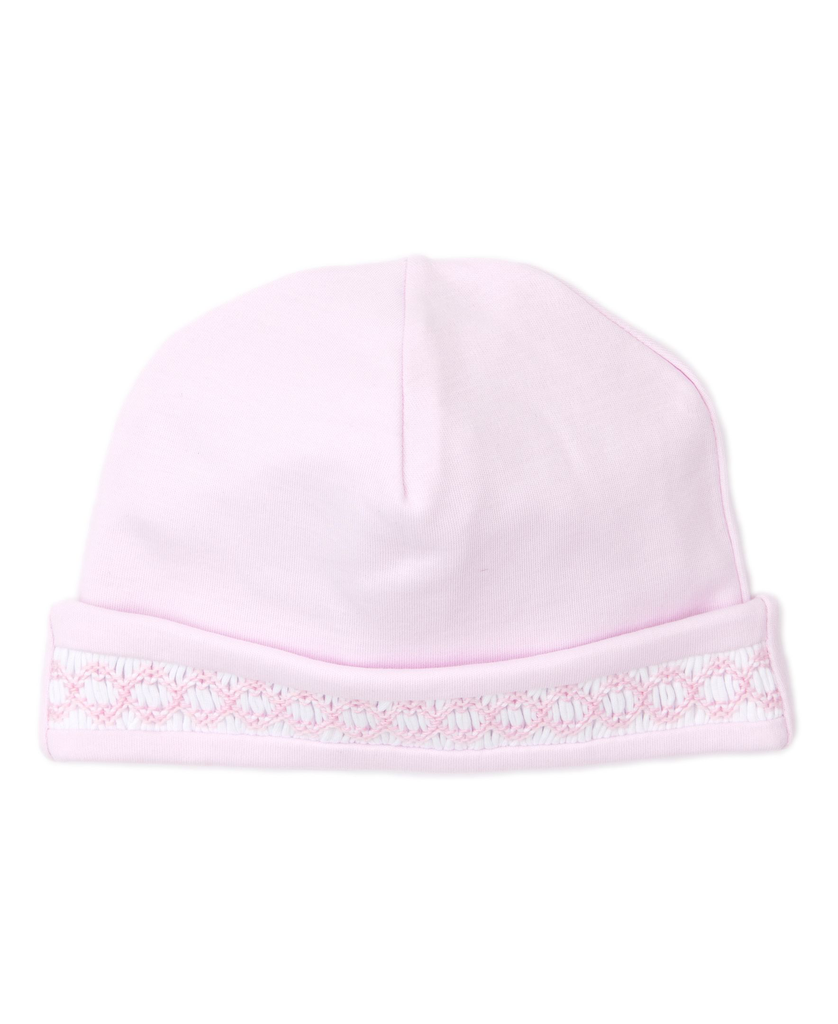 kissy kissy Kissy Kissy Blue Hand Smocked Hat -more colors