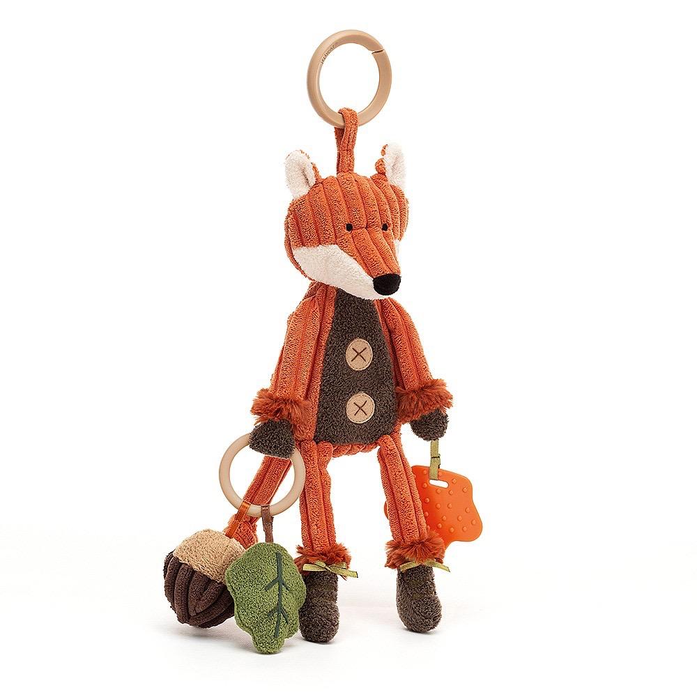JellyCat Jelly Cat Cordy Roy Fox Activity Toy
