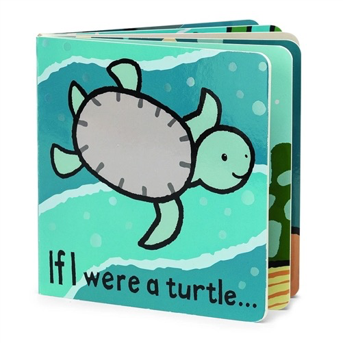 JellyCat Jelly Cat If I were a Turtle Black