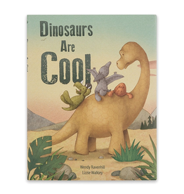 JellyCat Jelly Cat Dinosaurs Are Cool Book