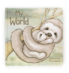 JellyCat Jelly Cat My World Book
