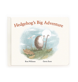 JellyCat Jelly Cat Hedgehog's Big Adventure Book