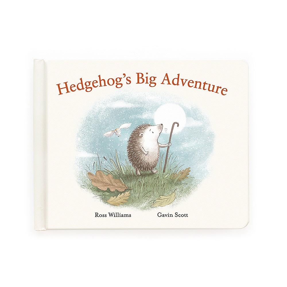 JellyCat Jelly Cat Hedgehog's Big Adventure Book