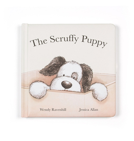 JellyCat Jelly Cat Scruffy Puppy Book