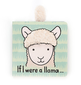 JellyCat Jelly Cat If I Were A Llama Book
