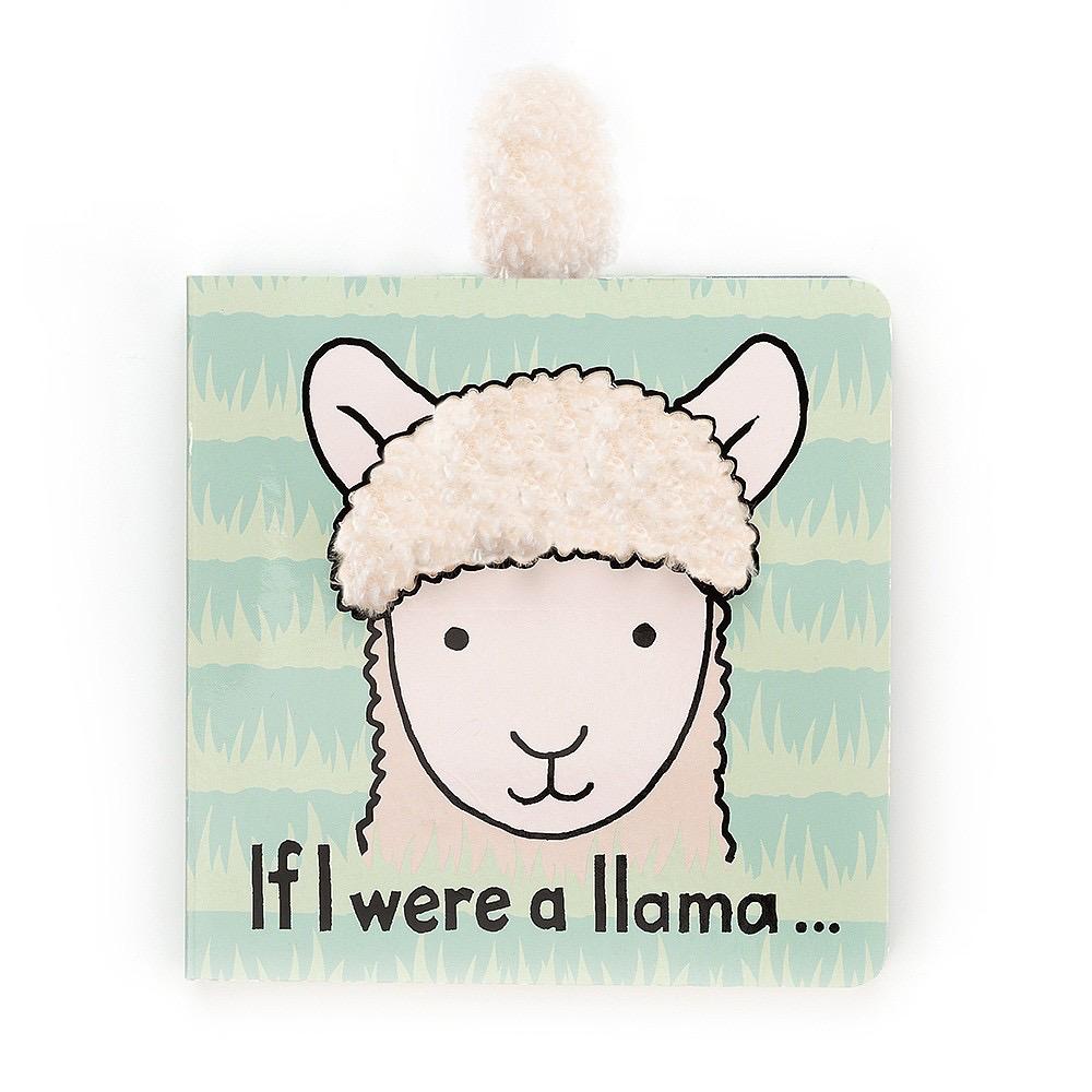 JellyCat Jelly Cat If I Were A Llama Book
