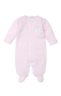 kissy kissy Kissy Kissy Pique Bear Back Footie- 2 colors