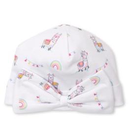 kissy kissy Kissy Kissy Llama Print Hat