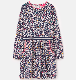 Joules Joules Twirl Jersey Party Dress