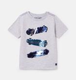 Joules Joules Cullen Reversible Sequin T-Shirt