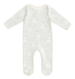 Winter Water Factory Winter Water Factory High Seas Footed Romper