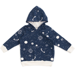 Winter Water Factory Winter Water Factory Planets Night Sky Hoodie