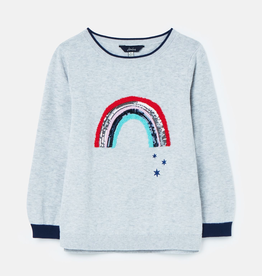 Joules Joules Miranda Artwork Knit Sweater