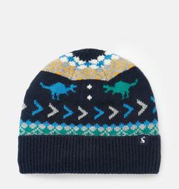 Joules Joules Toasty Fairisle Dino Hat