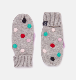 Joules Joules Caldwell Luxe Pom Pom Mitten