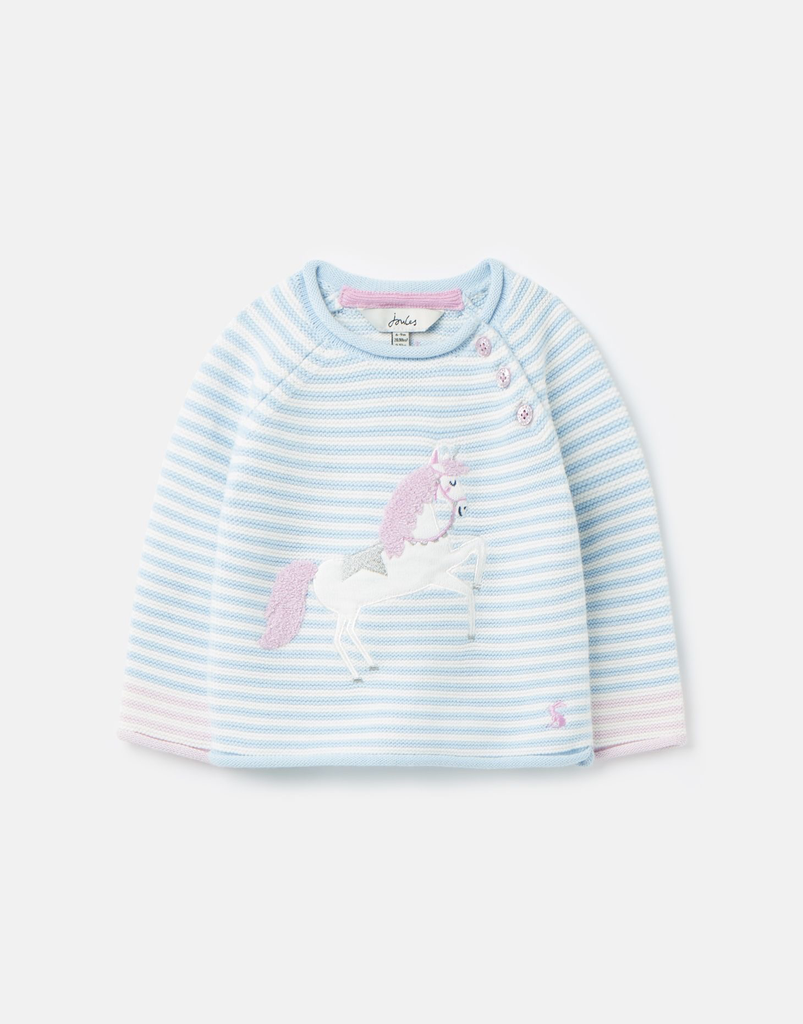 Joules Joules Winnie Unicorn Knit Sweater