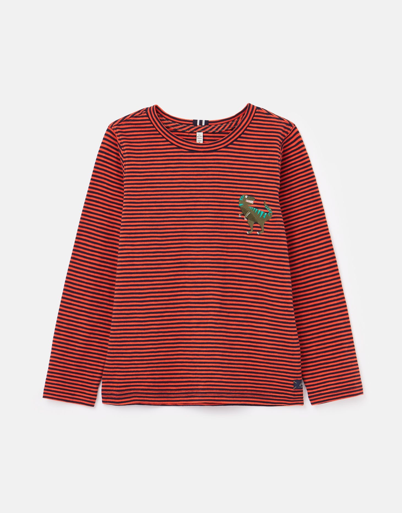 Joules Joules Dino Long Sleeve T-shirt