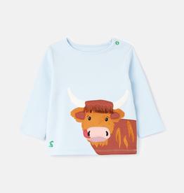 Joules Joules Angus Applique T-shirt