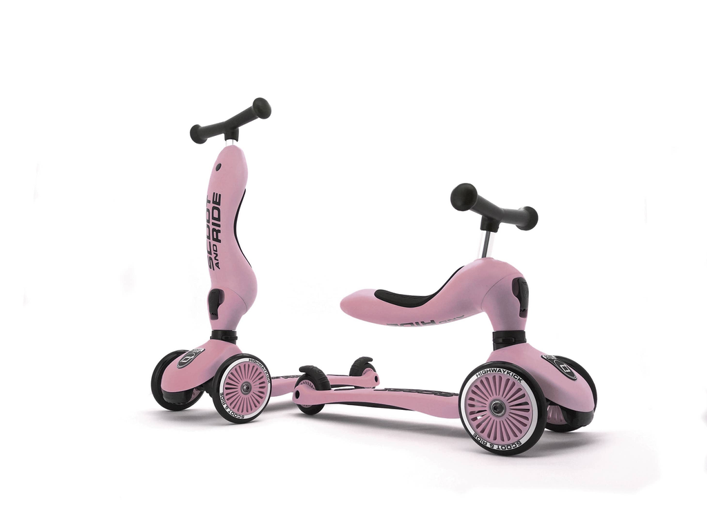 Scoot & Ride Scoot and Ride Highwaykick 1 Rose