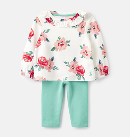 Joules Joules Posie Frill Top and Legging Set