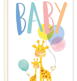 New Baby Giraffe Card