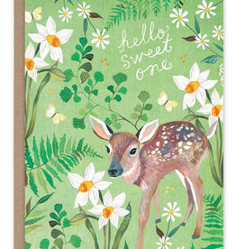 New Baby Fawn Card