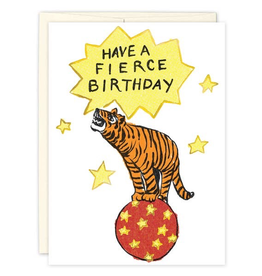 Fierce Tiger Birthday Card