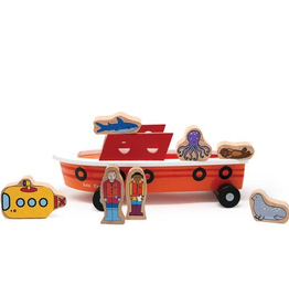 Jack Rabbit Creations Jack Rabbit Ocean Explorer Magnetic Ship