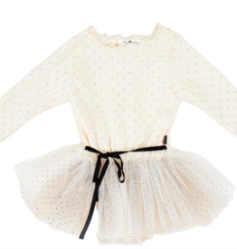 Petite Hailey Petite Hailey Dot Sha Tutu Dress