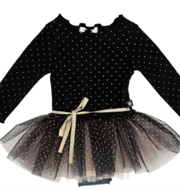 Petite Hailey Petite Hailey Dot Sha Tutu Dress