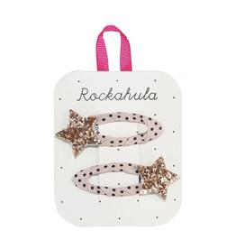 Rockahula Star Burst Clips<br /> Gold