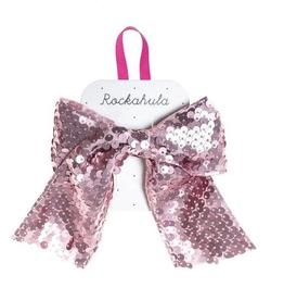 Rockahula Super Sequins Bow Clip Pink