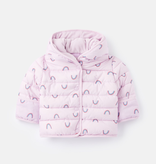 Joules Joules Jessie Rainbow Printed Padded Coat