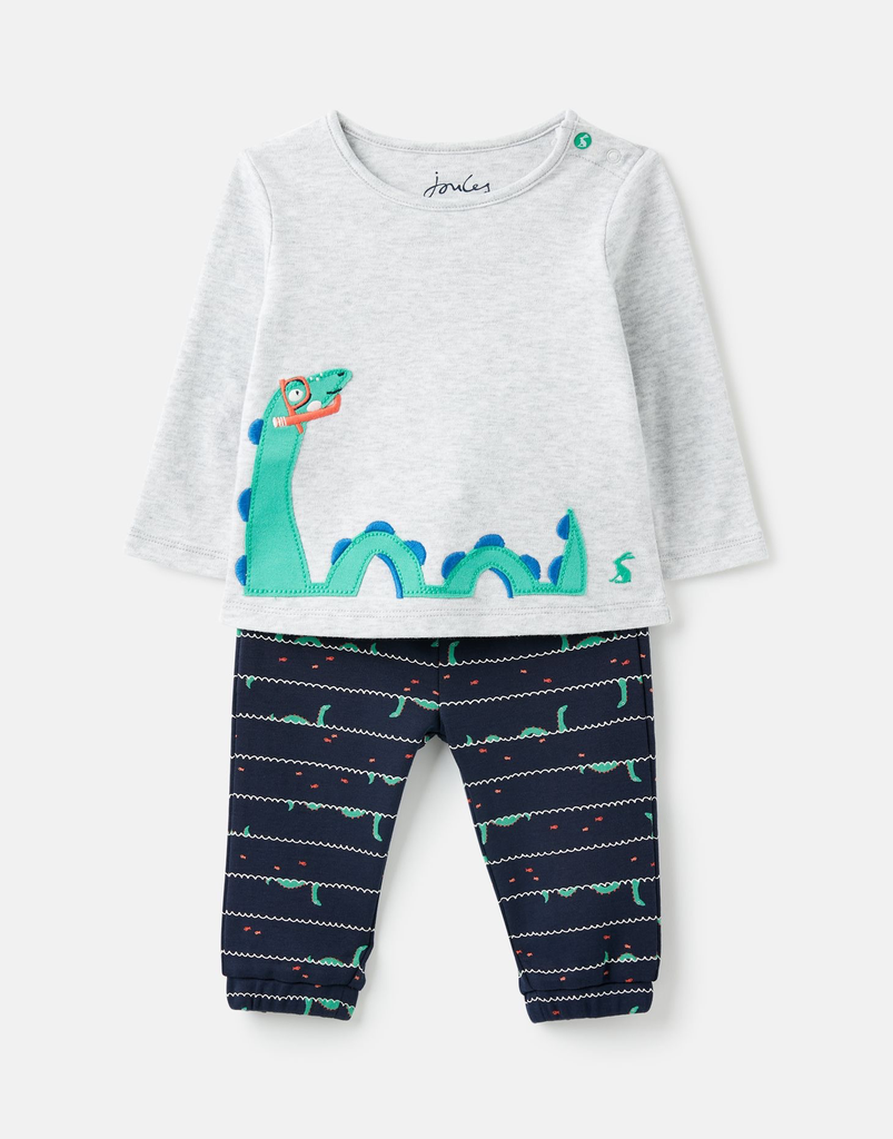 Joules Joules Lawson Organic Cotton Jersey Applique Set