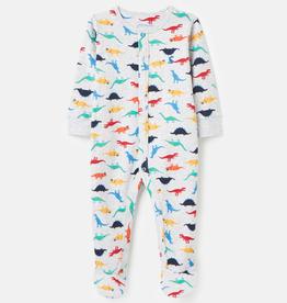 Joules Joules Ziggy Dino Printed Sleepsuit