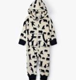 Hatley Hooded Fleece Jumpsuit